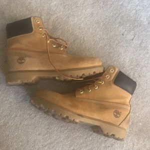Preowned Timberland Wheat 10M